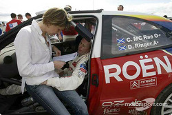 Colin McRae and wife Alison