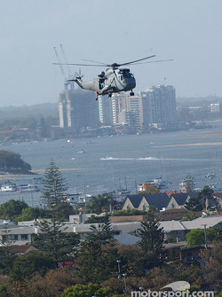 The Sea King Helicopter was part of many aerial displays over the weekend