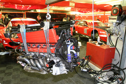 Veloqx Care Racing Racing Ferrari 550 Maranello powerplant