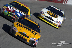 Matt Kenseth, Elliott Sadler and Dale Jarrett