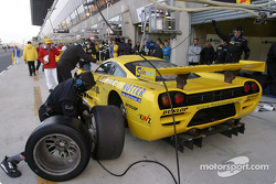 Pitstop practice at Konrad Motorsport