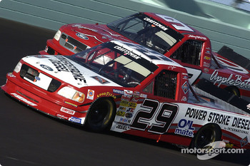 Terry Cook and Johnny Sauter
