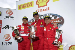 Ferrari 360 Challenge Pirelli Trophy, race 2 - The podium