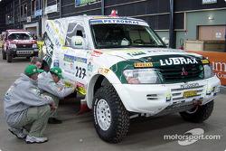 Petrobras-Lubrax Mitsubishi Pajero