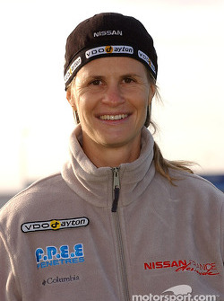 Nissan Dessoude team presentation: Isabelle Patissier