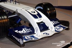 Front nose of the new WilliamsF1 BMW FW26