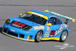 #66 The Racers Group Porsche GT3 RS: Kevin Buckler, Timo Bernhard, Jorg Bergmeister, Patrick Long
