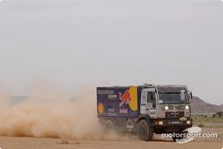 Volkswagen Motorsport assistance truck