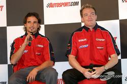 Vitantonio Liuzzi and Robert Doornbos interview on Autosport Stage