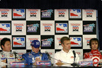 Rookies press conference: Kosuke Matsuura, Mark Taylor, Ed Carpenter and Darren Manning