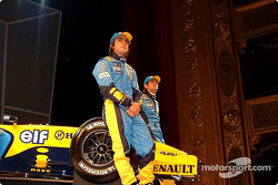 Fernando Alonso and Jarno Trulli