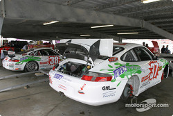 TPC Racing garage area