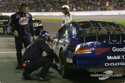 20-lap pause: Rusty Wallace in the pit