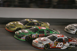 Ken Schrader, Bobby Labonte and Mike Skinner