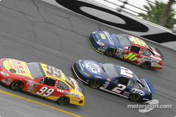 Jeff Burton, Rusty Wallace and Greg Biffle