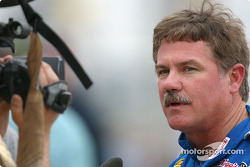 Terry Labonte meets the media