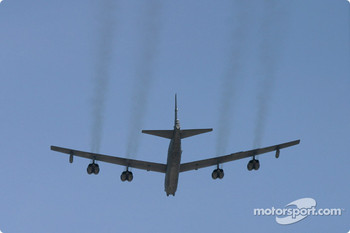 B52 flyover