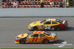 Brendan Gaughan and Derrike Cope
