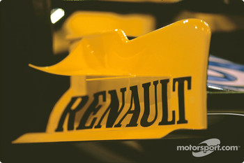 Detail of the new Renault R24