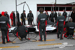 Pitstop simulation for team Minardi