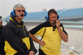 Keith Duesenberg Racing team members