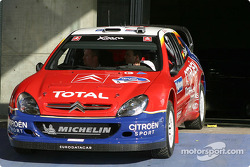 WRC cars arrive in Leon