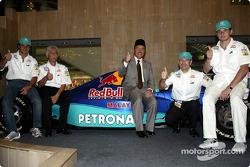 Kick-off of the 2004 Petronas Malaysian Grand Prix campaign in East Malaysia