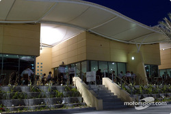 Toyota Racing hospitality at Bahrain International Circuit