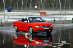 Christian Abt tests the Audi