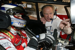 Martin Tomczyk and race engineer Dave Benbow