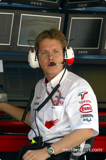 Toyota track engineer Ossi Oikarinen