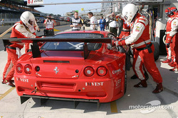 Pitstop practice at Barron Connor Racing