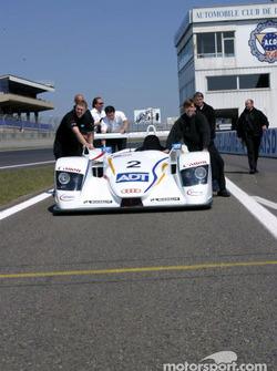 Champion Racing team members
