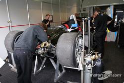 Champion Racing garage area