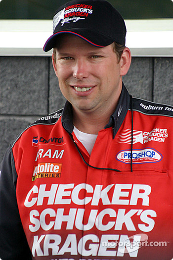 Current NHRA points leader, Del Worsham