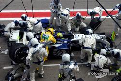 Pitstop for Ralf Schumacher