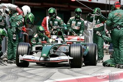 Pitstop for Christian Klien