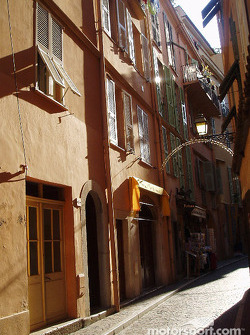 A street of Monaco