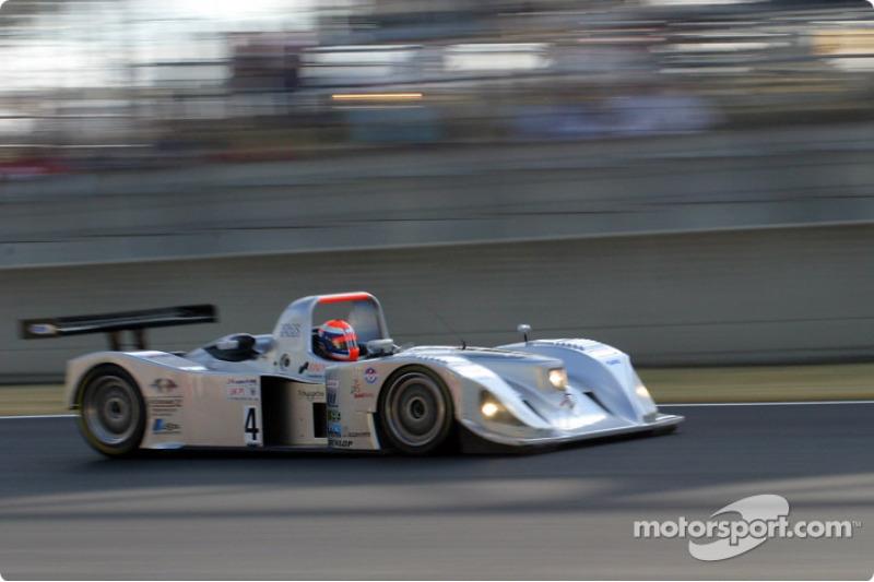#4 Taurus Sports Racing Lola Judd: Didier Andre, Benjamin Leuenberger, Christian