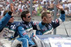 Drivers presentation: Emmanuel Collard, Sébastien Bourdais, Nicolas Minassian