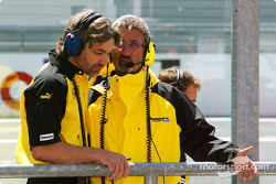 James and Robinson and Eddie Jordan