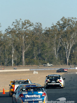 Jason Bargwanna follows Steven Johnson and Craig Lowndes
