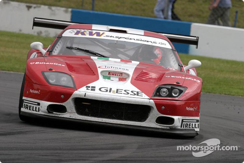 #13 G.P.C. Giesse Squadra Corse Ferrari 575 M Maranello: Gianni Morbidelli, Emanuele Naspetti