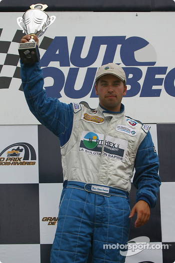 GTO podium: race winner Marc-Antoine Camirand