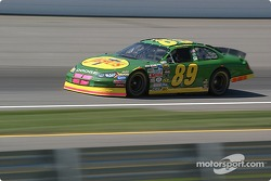 #89 Morgan Shepherd qualifies for the Brickyard 400