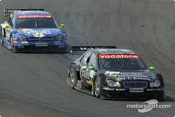 Gary Paffett and Manuel Reuter