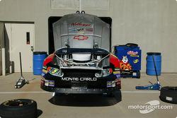 Hendrick Racing garage
