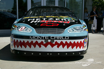 Special paint trim on Ward Burton's Chevrolet