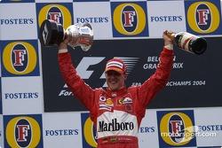 Podium: Michael Schumacher