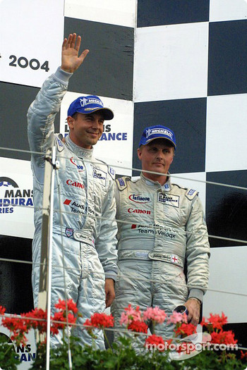 Jamie Davies and Johnny Herbert
